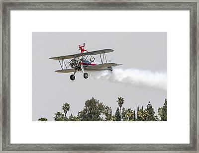 Wing Walker 1 Framed Print