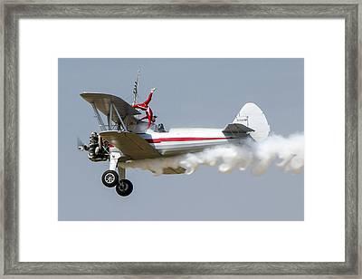 Wing Walker 2 Framed Print