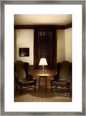 Wingbacks Framed Print by Margie Hurwich