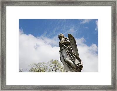 Winged Angel Framed Print by Jennifer Ancker