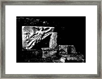 Nike Greek Goddess Of Victory Framed Print