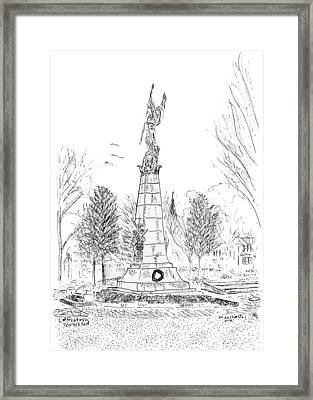 Winged Victory Framed Print