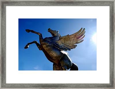 Winged Wonder I Framed Print