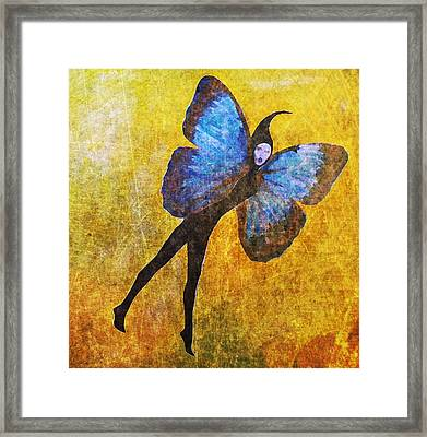 Framed Print featuring the digital art Wings 5  by Maria Huntley