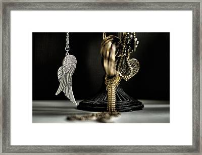 Wings Of Desire I Framed Print by Marco Oliveira