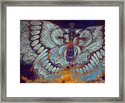 Wings Of Destiny Framed Print