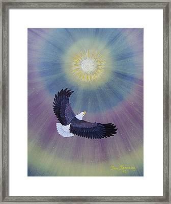 Wings Of Eagles Framed Print