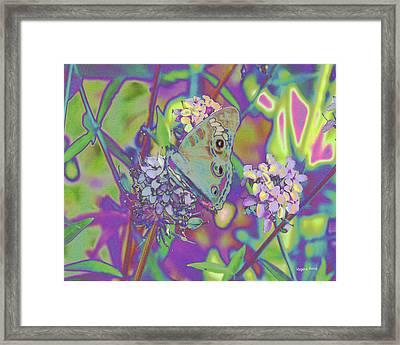 Wings Of Flight Framed Print