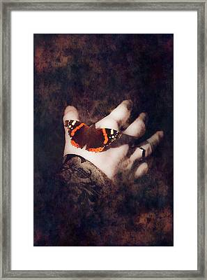 Wings Of Hope Framed Print by Loriental Photography