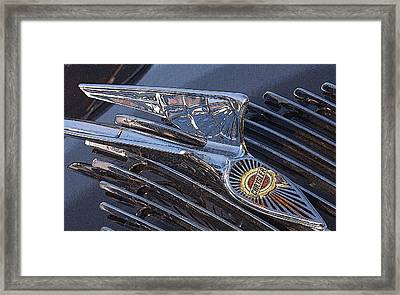 Wings On The Grill Framed Print