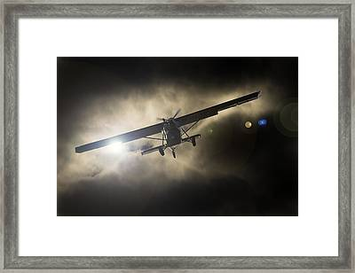 Framed Print featuring the photograph Wings by Paul Job