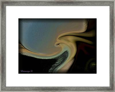 Wings Unfolding Framed Print