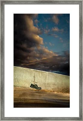 Wingtips  Framed Print by Bob Orsillo