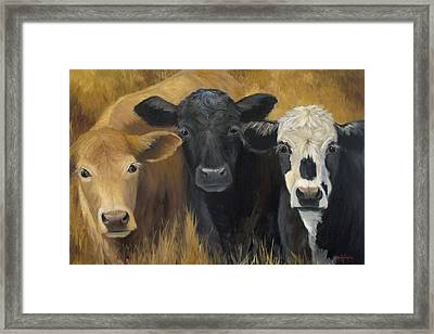Winken Blinken And Nod Framed Print by Cheri Wollenberg
