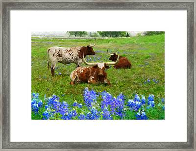 Da157 Winkin Blinkin And Nod Daniel Adams  Framed Print