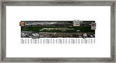 Winners Of The Daytona 500 Framed Print