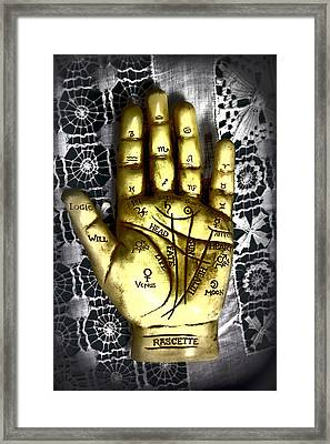 Winning Hand Framed Print