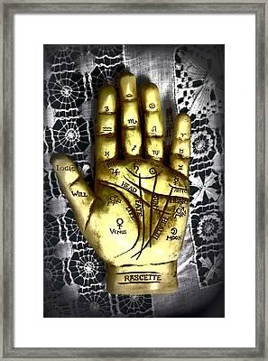 Winning Hand Framed Print by Lynn Sprowl