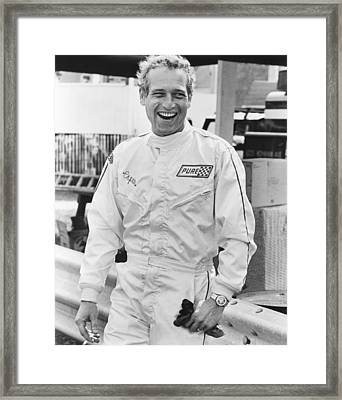 Winning, Paul Newman, 1969 Framed Print