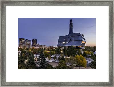 Winnipeg Dawn Framed Print