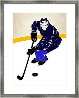 Winnipeg Jets Rink Framed Print by Joe Hamilton