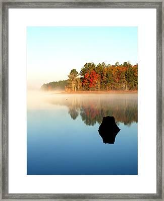 Winnsboro Reservoir-1 Framed Print by Charles Hite