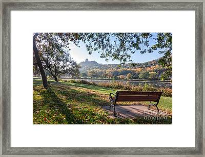 Winona Gift - Seat With A View Framed Print