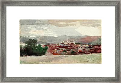 Winslow Homer, Santiago De Cuba, American Framed Print