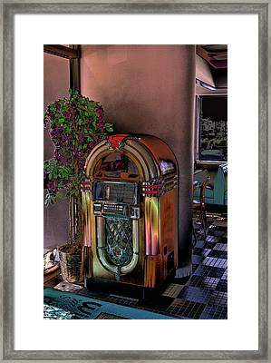 Winsteads Jukebox Framed Print by Tim McCullough