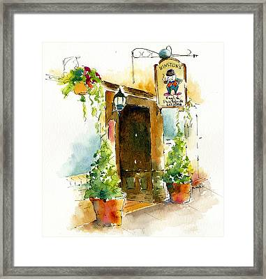 Winstons English Pub And Grill Framed Print