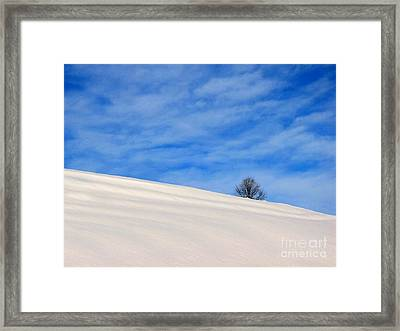 Winter 1 Framed Print by Vassilis Tagoudis