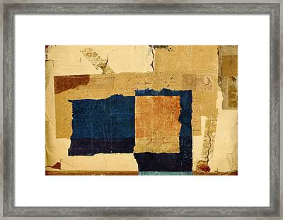 Winter And Fall Framed Print