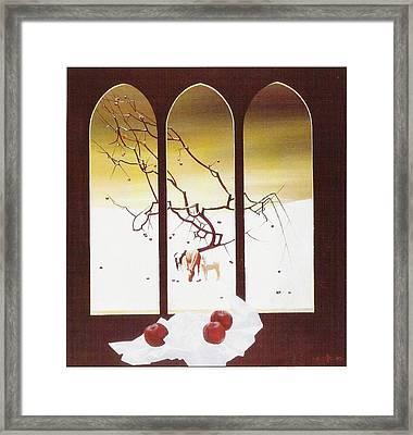 Winter Framed Print by Andrej Vystropov