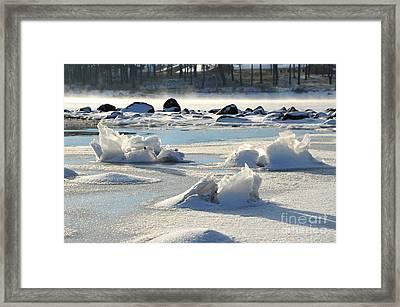 Winter Art Framed Print by Randi Grace Nilsberg