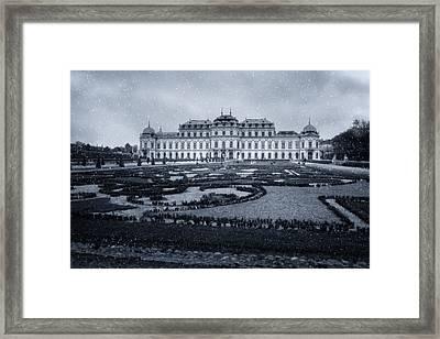 Winter At Belvedere Framed Print