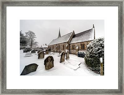 Winter At St Paul Framed Print by Adrian Evans