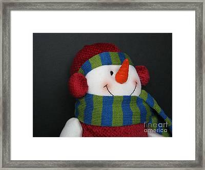 Winter Attire Framed Print