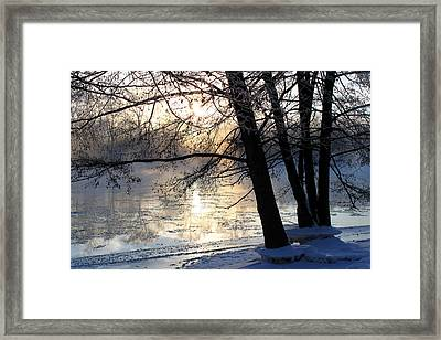 Winter Ballet Framed Print by Hanne Lore Koehler