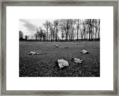 Winter Beckons Framed Print by Benjamin Yeager