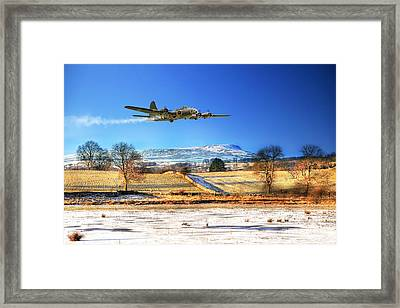 Winter Belle Framed Print