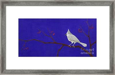 Winter Berries Framed Print by Gerald Strine