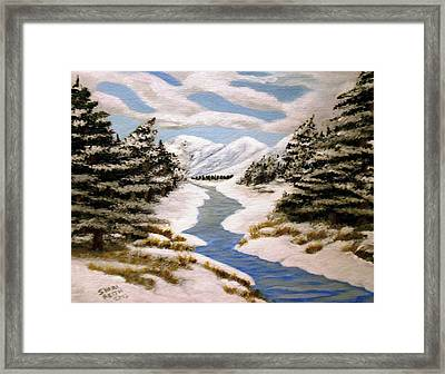 Winter Bliss Framed Print by Sheri Keith