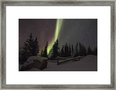 Winter Bliss Framed Print