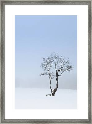 Winter Blues Framed Print by Bill Wakeley