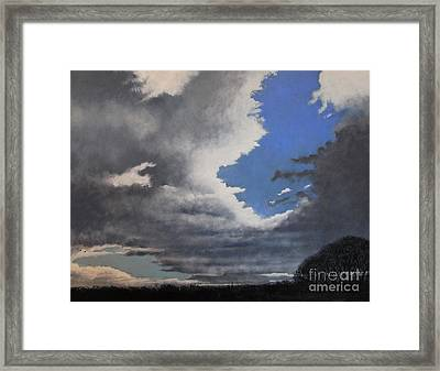 Winter Blues Framed Print by Paul Horton