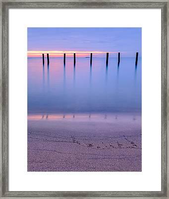 Winter Blues V2 Framed Print