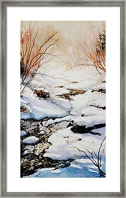 Winter Break Framed Print by Hanne Lore Koehler