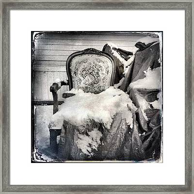 Winter Brocade Framed Print by H James Hoff