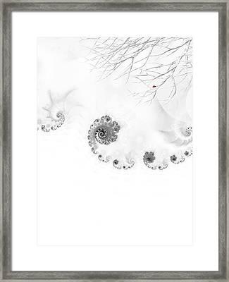 Winter Calls 2 Framed Print by Sharon Lisa Clarke