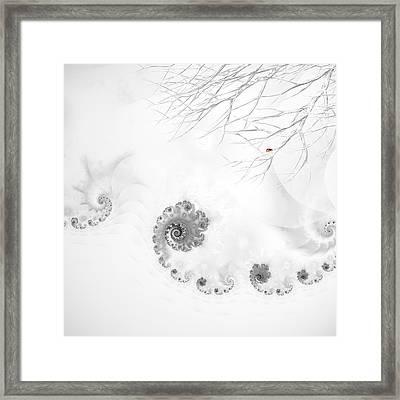 Winter Calls Framed Print by Sharon Lisa Clarke